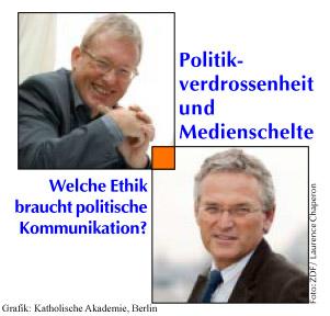 Politikverdrossenheit und Medienschelte - Frey und Metzger